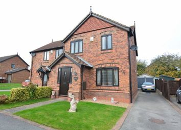 Thumbnail 3 bed semi-detached house for sale in Hawthorne Close, Winterton, Scunthorpe