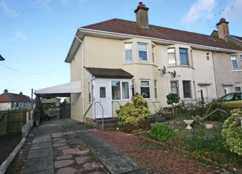 Thumbnail 2 bed end terrace house for sale in Flatt Road, Largs