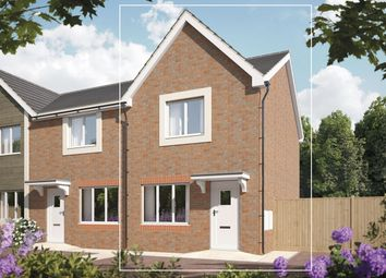 Thumbnail 2 bed terraced house for sale in Bramshall Green, Uttoxeter