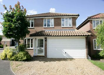 Thumbnail 4 bed detached house to rent in Burghley Rise, Burwell