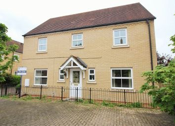 Thumbnail 4 bedroom detached house for sale in Christie Drive, Hinchingbrooke Park, Huntingdon, Cambridgeshire.