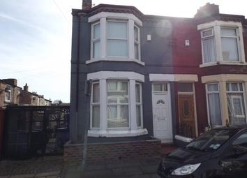 Thumbnail 3 bedroom end terrace house for sale in Shepston Avenue, Liverpool, Merseyside