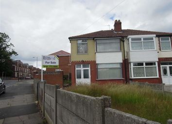 Thumbnail 3 bedroom semi-detached house for sale in Crescent Avenue, Crumpsall, Manchester