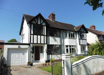 Thumbnail 3 bed semi-detached house for sale in Gresford Avenue, Prenton