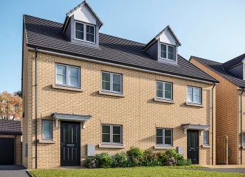 Thumbnail 4 bed semi-detached house for sale in Rosemary Close, Mowbray View, Sowerby