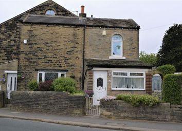 Thumbnail 3 bed end terrace house for sale in Quarmby Road, Quarmby, Huddersfield