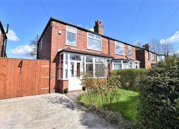 Thumbnail 3 bed semi-detached house for sale in Craigweil Avenue, Didsbury, Manchester