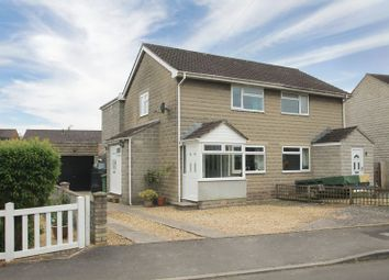 Thumbnail 3 bed semi-detached house for sale in Bowns Close, Evercreech, Shepton Mallet