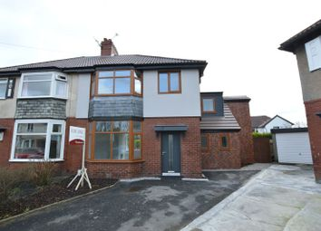 Thumbnail 4 bedroom semi-detached house for sale in Marlwood Road, Smithills, Bolton