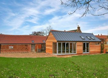 Thumbnail 5 bed barn conversion for sale in City Road, Stathern, Melton Mowbray