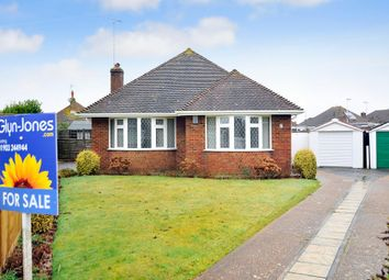 Thumbnail 2 bed detached bungalow for sale in Westergate Close, Goring-By-Sea, Worthing