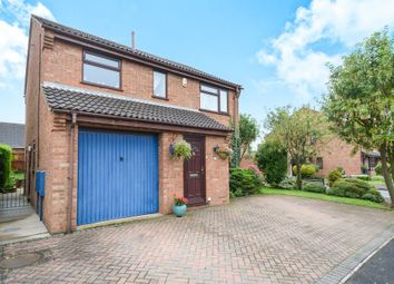 Thumbnail 3 bed detached house for sale in Heathfield Avenue, Branston, Lincoln