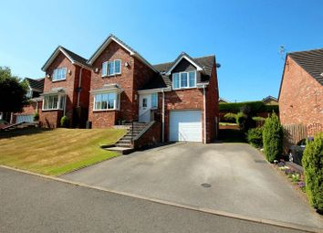 Thumbnail 4 bed detached house for sale in Sandyfield Court, Biddulph, Stoke-On-Trent