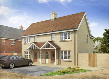 Thumbnail 2 bed semi-detached house for sale in Long Melford, Sudbury, Suffolk