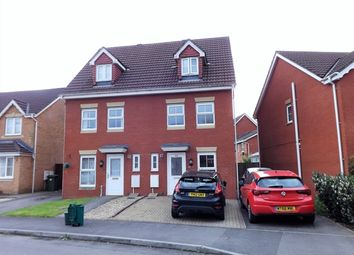 Thumbnail 3 bed town house for sale in Clos Springfield, Talbot Green, Pontyclun