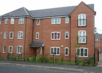 Thumbnail 2 bed flat to rent in Wedgebury Close, College Fields, Wednesbury