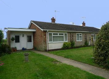 Thumbnail 2 bedroom bungalow for sale in Acle Road, Moulton St Mary, Norwich