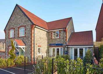 "Thumbnail 4 bed property for sale in ""The Monksfield"" at Wand Road, Wells"