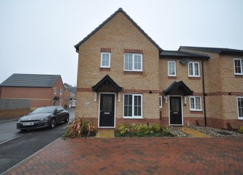 Thumbnail 3 bed town house to rent in Askew Way, Woodville, Swadlincote