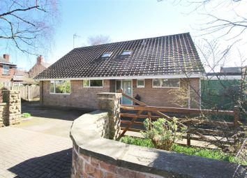Thumbnail 5 bed detached bungalow for sale in Central Avenue, Hucknall, Nottingham