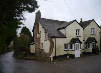 Thumbnail 3 bed cottage for sale in West Buckland, Barnstaple