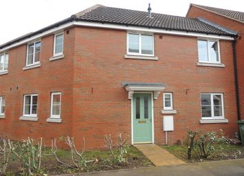 Thumbnail 3 bed terraced house to rent in Basil Drive, Downham Market