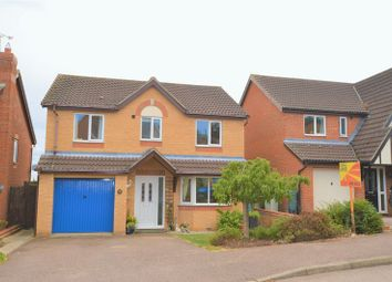 Thumbnail 4 bed detached house for sale in Hilltop Drive, Oakham