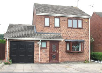 Thumbnail 3 bed detached house for sale in Charnwood Road, Barwell, Leicester
