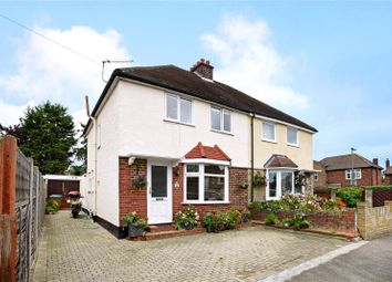 Thumbnail 4 bed semi-detached house for sale in Franklyn Road, Walton-On-Thames, Surrey