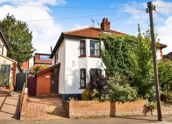 Thumbnail 3 bedroom semi-detached house for sale in Whitehall Road, Norwich