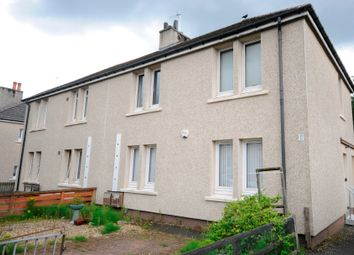 Thumbnail 1 bed flat for sale in Martin Crescent, Baillieston, Glasgow