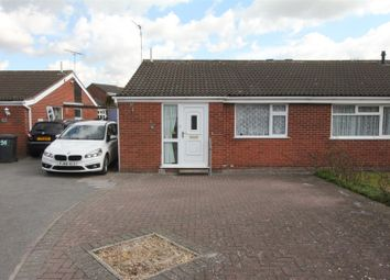 Thumbnail 2 bed semi-detached bungalow for sale in Hereford Close, Barwell, Leicester