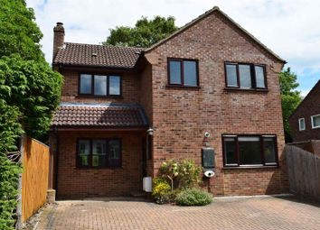 Thumbnail 4 bed detached house for sale in The Rise, Cold Ash, Thatcham