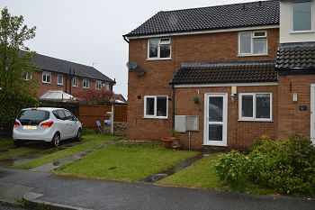 Thumbnail 2 bed flat to rent in Cronton Avenue, Moreton