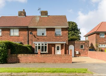 Thumbnail 3 bed semi-detached house for sale in Poplar Drive, Chesterfield, Derbyshire