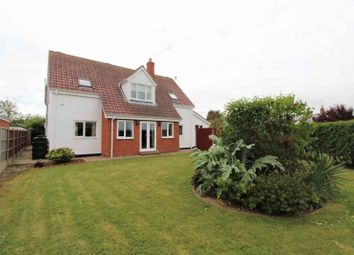 Thumbnail 4 bed detached house for sale in California Avenue, Scratby, Great Yarmouth
