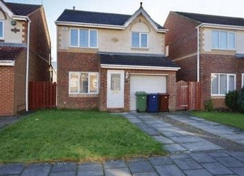 Thumbnail 3 bedroom detached house for sale in Ruskin Drive, High Heaton, Newcastle Upon Tyne