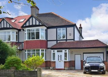 Thumbnail 4 bed semi-detached house for sale in Barnfield Avenue, Shirley Park, Croydon, Surrey