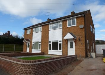 Thumbnail 3 bed semi-detached house to rent in Maer Lane, Market Drayton