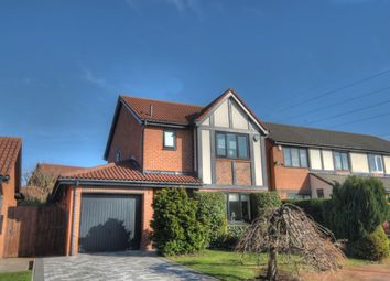 Thumbnail 3 bed detached house for sale in Queensbury Drive, Abbey Farm, Newcastle Upon Tyne