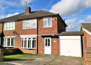 Thumbnail 3 bed semi-detached house for sale in Elmwood Way, Basingstoke