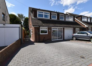 Thumbnail 3 bedroom semi-detached house to rent in Wych Elm Close, Hornchurch