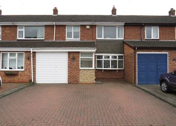 Thumbnail 3 bed terraced house for sale in Rangifer Road, Fazeley, Tamworth