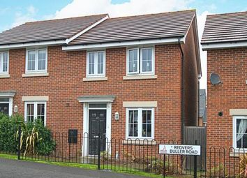 Thumbnail 3 bed semi-detached house for sale in Redvers Buller Road, Chesterfield, Derbyshire