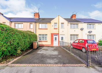 Thumbnail 3 bed terraced house for sale in Webster Road, Willenhall