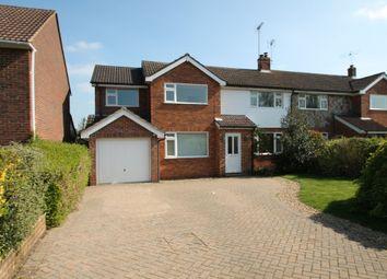 Thumbnail 4 bed semi-detached house to rent in Woosehill Lane, Wokingham, Berkshire