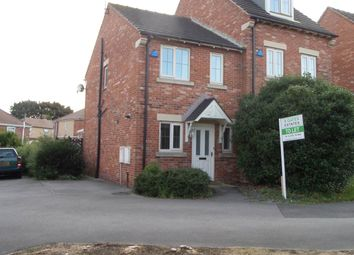 Thumbnail 2 bed town house to rent in Old Oaks View, Barnsley