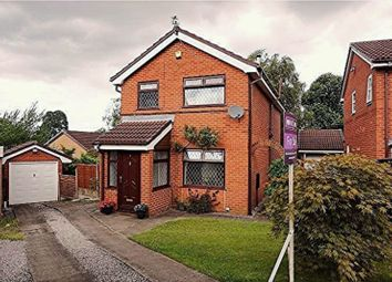 Thumbnail 4 bedroom detached house for sale in Heddon Close, Heaton Mersey