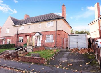 Thumbnail 3 bedroom end terrace house for sale in Maple Road, Dudley