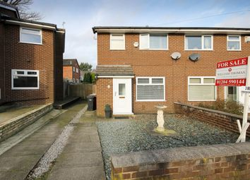 Thumbnail 3 bedroom semi-detached house for sale in Thornham Drive, Bolton